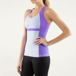 Lululemon run fast track tank sz 4/free bag